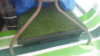 faux grass pee pad for dogs