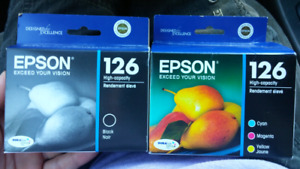 Epson 126 ink cartridges