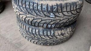 Pair of 2 Sailun IceBlazer WST1 225/65R17 WINTER tires (70% trea