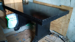 Dining table - 5x3' - art deco style - $50