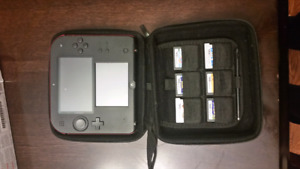 Nintendo 2DS with games