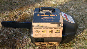 Brand New,Never Used,Still in Box, Poulan Pro Chainsaw with Case
