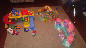 little people collection - excellent condition