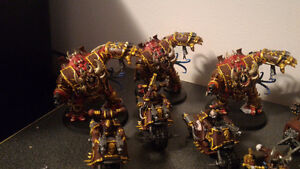 Painted 40k Chaos army, trade for X wing? London Ontario image 4