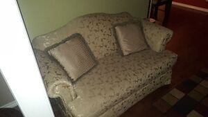Couch and matching loveseat