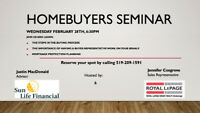 Homebuyers Information Seminar