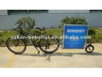 Two Advert Bike Trailers.
