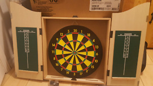 Brand new dart board and case!