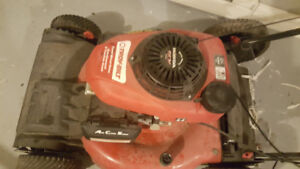 Troy-bilt self-propelled lawnmower