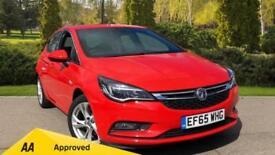 2015 Vauxhall Astra 1.0T 12V ecoFLEX SRi 5dr Manual Petrol Hatchback