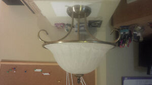"Solid brass ceiling lamp 13"" or 16"" Kitchener / Waterloo Kitchener Area image 4"