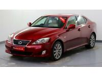 2007 Lexus IS 2.5 SE-L Petrol red Automatic