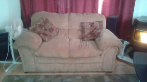 Couch, Love seat, 2 end tables with matching coffee table