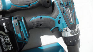 Makita DHP458 18 Volt Hammer Drill and Charger $180 Prince George British Columbia image 3