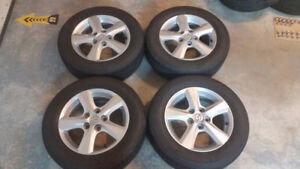 "15"" Mazda Alloys w/ great condition Michelin Tires, fits others"