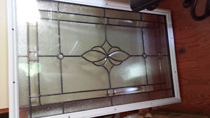 Decorative Glass Inserts- $75.00 each - 2 available