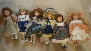 Porcelain dolls $15 each
