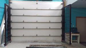 ***GARAGE DOOR with motor, size 14feet 3 x 9 high