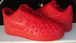 nike air force 1 red 8.5