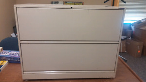 Nice large Double Drawer Pull Out File Cabinet. $20