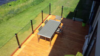 Now booking spring and summer Deck & Railing installations