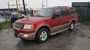 2004 Ford Expedition Eddie Bauer 4X4 Triton V8 **8 Seater**