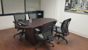 OFFICE MOVING SALE - OFFICE FURNITURE & MORE IN MINT CONDITION
