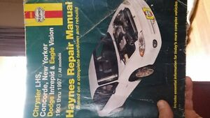 Haynes Repair Manual for 1993-1997 Chrysler Intrepid