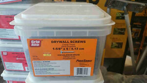 """Grip-Rite 1-5/8"""" Drywall Screws for only $19.99!"""