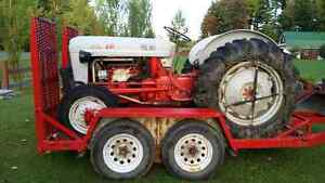 Tracteur FORD 1958 modele 641