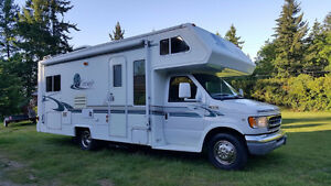 2000 Ford Corsair Excella 24' motorhome with only 18,000kms!!!