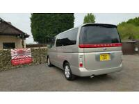 Nissan Elgrand 3.5 automatic 8 seater biege MPV day van only 40k miles 2004