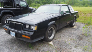 85 Buick Grand National 1 of 77 T-Top GNX clone NEW PRICE