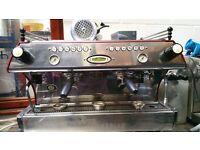 LA MARZOCCO FB 2 GROUP TOP OF THE RANGE COFFEE ESPRESSO MACHINE, £7K NEW