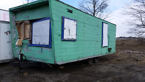 Job site trailer