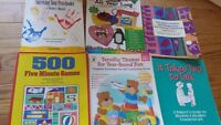 6 books for Parents Teachers Daycare providers