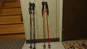 bottines,casque,bâtons, pour ski de fond