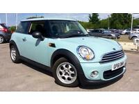 2011 Mini One 1.6 One 3dr Manual Petrol Hatchback