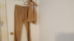 Size 7 Ladies leather suede pants