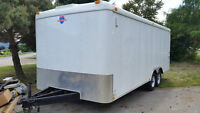 2009 Interstate 20' enclosed trailer with ramp.