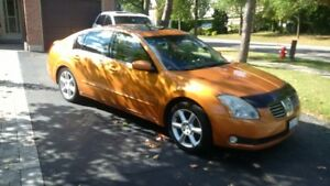 RARE Orange Nissan Maxima Elite LWB edition!