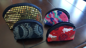Brand new Hand made coin pouch or multi purposes pouch