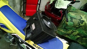 AIR BOX with the 3x3 mod hole for DRZ400s