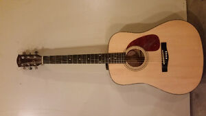 Acustic guitar.