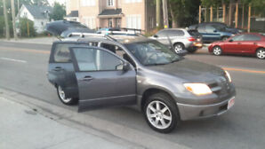 2006 Mitsubishi Outlander LS..MANUAL ..5 SPEED SUV, Crossover