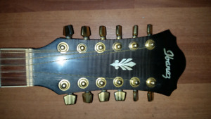 12 string IBANEZ electric acoustic 400 obo