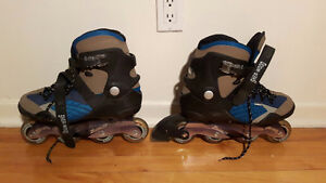 Rollerblades / patins à roulettes Sizes 10 & 12