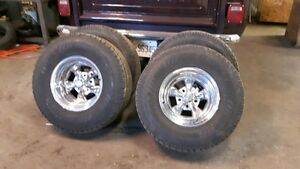 15 in. knock off crager rims and tires