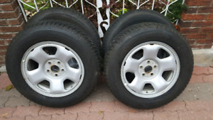 Honda Odyssey Pilot MDX Winter Package Rims + Tires 235 65 1