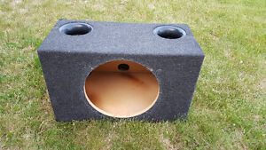 15 inch ported subwoofer box